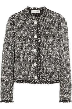 Balenciaga | Veste en tweed effilée | NET-A-PORTER.COM