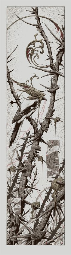 Aaron Horkey's poster for the Sigur Rós show in Minnesota