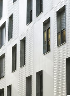 Ebrasement de baies Galva _ SOA Architectes Paris > Projets > THERMOPYLES