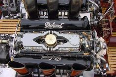 Miss America VIII - Merlin Engines with Packard Valve Covers ...
