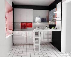 барная стойка на кухне из камня - Поиск в Google