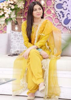Sanam Baloch Twitter , Sanam Baloch in beautiful yellow dress looking cute . click on pic for more beautiful pics