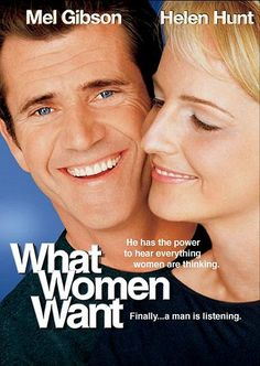 What Women Want Paramount) starring Mel Gibson & Helen Hunt Helen Hunt, Mel Gibson, See Movie, Movie List, Film Movie, Film Music Books, Music Tv, Funny Movies, Great Movies