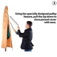 http://www.bonsoni.com/2m-waterproof-parasol-cover-in-khaki-garden-outdoor-furniture  Parasol Cover for 2m Parasols - High quality stitching and re inforced seams  http://www.bonsoni.com/2m-waterproof-parasol-cover-in-khaki-garden-outdoor-furniture