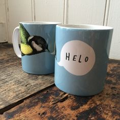 Helo mug - blue