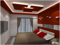 Stylish home interior needs equally gorgeous & elegant ‪#‎falseceiling‬ to complete the trendy look.  Visit www.gyproc.in