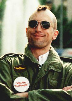 "Travis Bickle (Robert DeNiro) in ""Taxi Driver"""