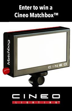 Enter to win your own Cineo Matchbox (a $495 value)—a versatile, portable, beautiful light for video and photography.