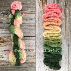 Hand Dyed Yarn, Gradient Yarn, Fingering Weight Yarn, MCN by WendysWonders127 on Etsy https://www.etsy.com/listing/615143347/hand-dyed-yarn-gradient-yarn-fingering