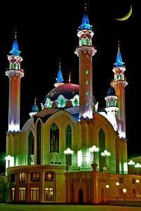 The Marjani mosque in Kazan, Tatarstan