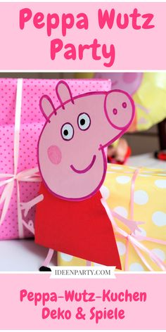 Peppa – Wutz or Peppa Pig, whatever you call it, it is – Girl Birthday Ideas Pig Birthday Cakes, Girl Birthday, Invitation Cards, Party Invitations, Peppa Pig Family, Pinata Cake, Lema, Pig Party, Birthday Decorations
