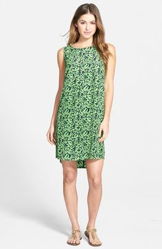 Caslon®+Woven+Shift+Dress+(Regular+&+Petite)+available+at+#Nordstrom