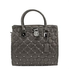 e04c6c97d64a Michael Kors Hamilton Quilted Stud Tote