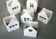 giochi di carta: giochi di carta #34 little paper houses