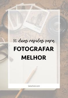 Quem já tentou se aventurar na fotografia sabe que nem sempre tudo é tão simples quanto parece. É claro que, como tudo na vida, fotografar requer um pouco de prática - e estudo - para melhorar. Por isto, reuni neste post 30 dicas rápidaspara você fotografar melhor.