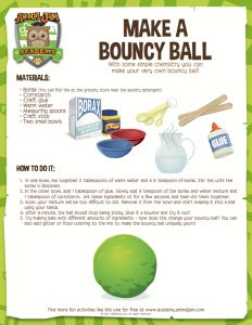 Animal Jam Academy | Science Experiment | Make a Bouncy Ball | Use chemistry to make a super fun toy - you can even customize your bouncy ball with materials like glitter!