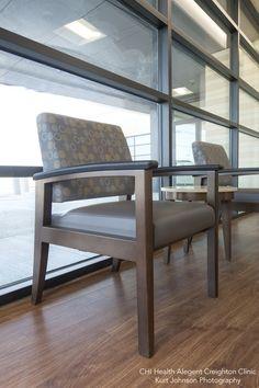 CHI Health Alegent Creighton Clinic- Sub Waiting Area http://www.kurtjohnsonphotography.com/