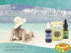 Featured are just 3 of the great products that have been proven by our customers time and time again to assist in the management of day to day stress. If you're feeling the pinch this week, come chat with us about herbs that could assist YOU!