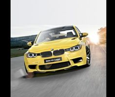 Yellow!!!  so want this (: BMW M3, 2014  www.dealerdonts.com