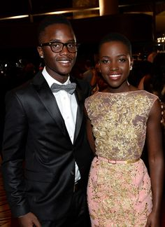 LUPITA <3 #Crush with her Brother.  Prettiest sibs in the world