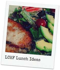 LCHF/low carb/NSNG lunch ideas... great ideas even if you're stuck in the office away from a stove!