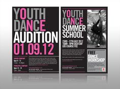 One Youth Dance Leaflet, Cheap Leaflet printing