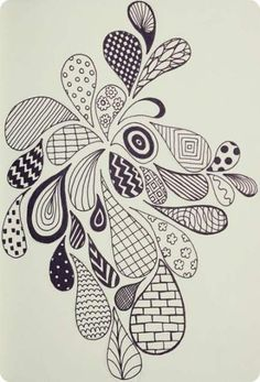 40 simple and easy doodle art ideas to try zentangle drawings, doodle drawings, doodles Zentangle Drawings, Doodles Zentangles, Doodle Drawings, Simple Doodles Drawings, Doodling Art, Pencil Drawings, Flower Drawings, Cool Simple Drawings, Simple Sketches