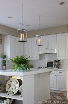 DIY Pendant Lantern Lights by Meaningful Spaces
