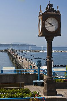 White Rock Pier and Clock Vancouver Island, Canada Vancouver, Vancouver City, Rock Bed, Mc G, You're Dead, Our Country, You're Beautiful, Surrey
