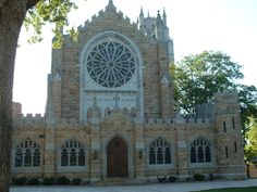 All Saint's Chapel at the University of the South - Sewanee