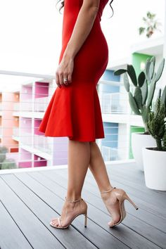 How to rock red lipsticks & red dresses! - Mint Arrow