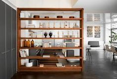 Image result for built in room dividers modern