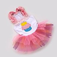Cute Cake Embroidered Veil Skirt  for Pets Dogs(P... – USD $ 12.87