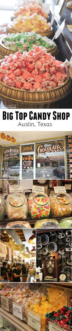 Big Top Candy Shop in Austin, Texas
