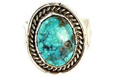Spiderweb+Turquoise+Hopi+Ring