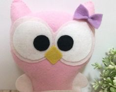 Items similar to Jouet personnalisé Mini peluche hibou on Etsy