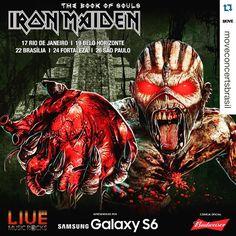 Preparados? #iron #uptheirons #ironmaiden #livepass