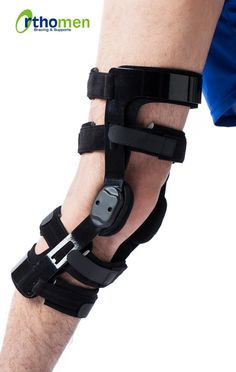 Orthomen Functional ACL Knee Brace (Right)--About the Product ROM higes wish plug-in flex/ext stops Extension limitation at: limitation limitation at Hypoallergenic silicone-grip stra Acl Ligament, Cruciate Ligament, Acl Knee Brace, Knee Injury, Common Knee Injuries, Acl Surgery, Acl Tear, Knee Pain, Health