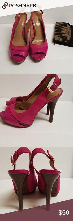 BCBG Shoes Women's BCBG Shoes, high heel pump shoes, Perfect condition, color: Pink BCBG Shoes Heels
