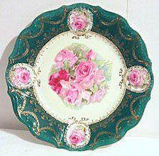 Erdmann Schlegelmilch - Plate - Prov Sxe - Roses
