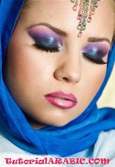 Tutorial Arabic make-up