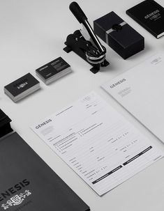 Gênesis Branding. Goiania, Brazil based design studio Br/Bauen enjoyed the work for Gênesis, a company that offers estate planning. Br/Bauen started to cre