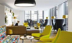 Client Lounge - Lend Lease office by Woods Bagot