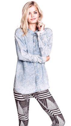 H&M spijkerblouse