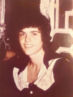 Donny Osmond taken by my pen pal in 1973 maybe?