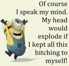 Funny Minions images jokes AM, Thursday September – 30 pics Funny Minion Memes, Minions Quotes, Funny Jokes, Minion Humor, Funny Quotes Lol, Bae Quotes, Funny Captions, Just For Laughs, Just For You