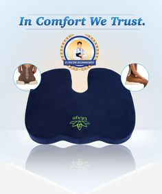 Amazon.com: COCCYX CUSHION - COMFORT DONUT PILLOW - Helps Relieve Sciatica, Pilonidal Cyst, Tailbone & Lower Back Pain - FREE BONUS 3 in 1 BUNDLE PACK INCLUDED (Midnight Blue + Black + Gray Colored Covers) - Portable Ergonomic Design - Perfect as Office Chair, Desk Chair, Wheelchair, Car Seat Cushion - Use as Sitting, Doughnut, Butt, Back, Coccyx, Seat Lumbar Pillow: Health & Personal Care