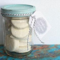 White Christmas Treat Jar - Redbook.com