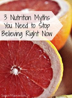 Nutrition myths, debunked! Join a Certified Holistic Nutritionist as she debunks 3 common nutrition myths - and helps you to be your healthiest self, starting RIGHT NOW by making simple changes to your eating habits.