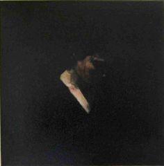 portrait clair obscur - peinture acrylique sur toile 70 X70 cm - JY Verne - artiste français http://www.artmajeur.com/lonelyartsverne/